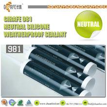Neutral curing rtv silicone sealant cartridge