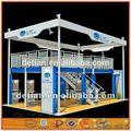 detian doble cubierta personalizado feria exposición stand de exhibición