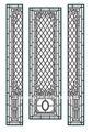6 - 22 mm painel temperado manchado painel de vidro para igreja