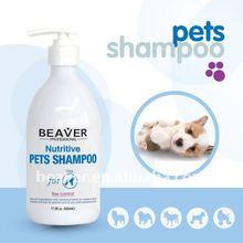Beaver Nutritive Pet Shampoo For Sensitive Skin(2012 hot sale)