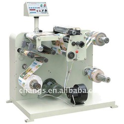 picture slitting rewinding machine