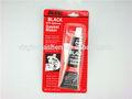 De secado rápido negro rtv sellador de silicona/super pegamento