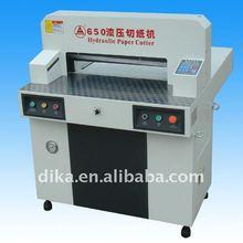 25.5inch hydraulic programmed paper cutting machine