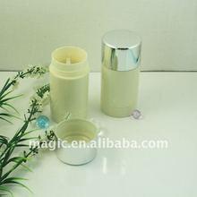 Plate round plastic deodorant stick container deodorant stick packaging deodorant stick roll on spray