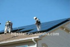 300w poly crystalline solar cell panel high efficiency for house roof system