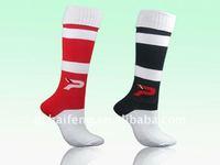 2015 hot-sell fashion Cotton Nylon Spandex Mix Football Socks