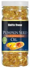 semente de abóbora óleo para a próstata cápsula macia 1000 mg x 100 suplemento alimentar de saúde