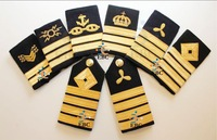 Navy, Marine, Maritime Epaulette Ranks Manufacturer | Marchent Navy Epaulets Embroidery