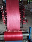 red color woven polypropylene tubular fabric in roll