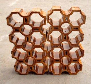 Cer mica decorativa ladrillos huecos ladrillo - Tipos de ladrillos huecos ...