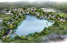 Tourist Attractions Landscape Design Sketch