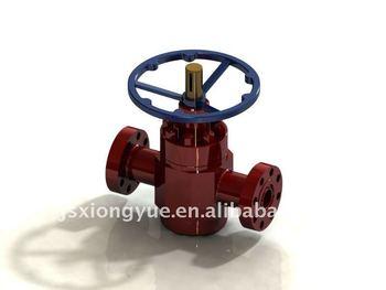 Manual non-rising stem gate valve (API 6A)