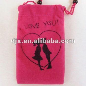 Promotional Velvet Mobile Phone bags