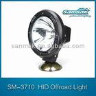 ABS plastic offroad head light 12v 25w hid headlight atv utv xenon hid driving lights SM3700