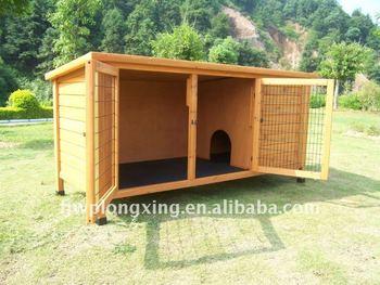 Ourdoor Wooden Rabbit hutch