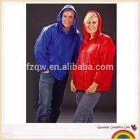 Adult foldable cycling rain jacket