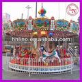 Parque temático rides carrossel musical de crianças de diversões galloper