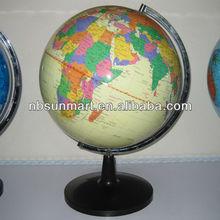 Plastic world globes