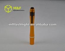 Aluminum pen shaped led torch light medical torch light