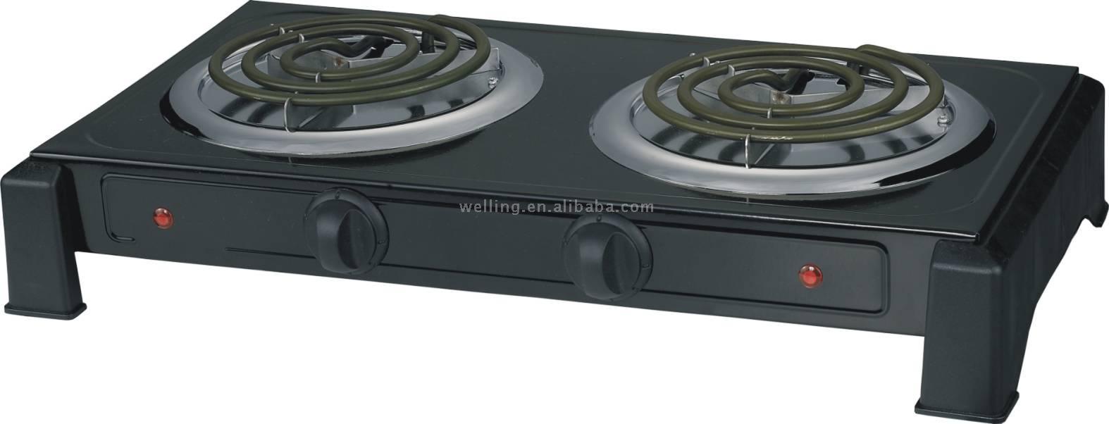 Cocina el ctrica quemador el ctrico bandejas calientes for Cocina encimera electrica