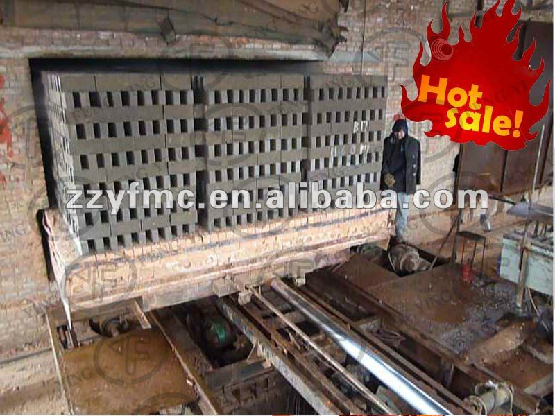 Modern technology!! Tunnel kiln for brick production line, clay brick burning tunnel kiln