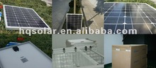 mini 40w monocrystalline solar panel for portable use