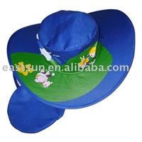 Folding cowboy hat
