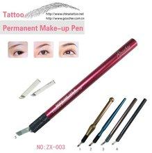 Manual permanent makeup pen