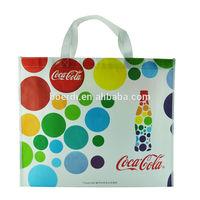 Newly design rpet eco-friendly non-woven shopping bag