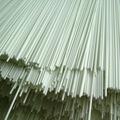 barra de cortina del Ninguno-moho, barra de cortina de la fibra de vidrio, para las cortinas romanas