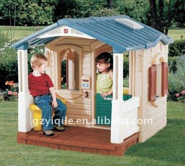 Los ni os baratos casa de juguete de pl stico toboganes for Casas de juguete para jardin baratas