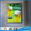 transparent indoor advertising new led light frame