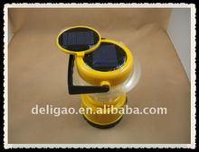 Solar led hurricane/camping lantern