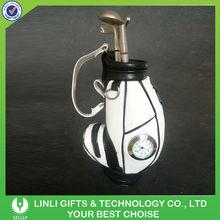 Azul caneta titular golf com relógio de golfe verde presente de boa qualidade