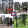 Welded gas bottle cage panels and Welded bird cage panels