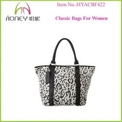 Trendy Durable Classic Design Canvas Handbags Bags Trendy Women Bag Fashion 2015