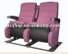 Graceful metal folding luxury vip movable theater chairs YA-290