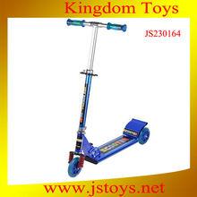 three iron wheel kids scooter