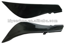 Kawasaki carbon fiber under tank covers