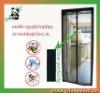 Black Magnetic Fly Screen Door