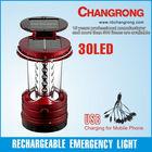 30 led solar camping lantern