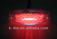 M103 Red Motorcycle led stop turn tail light scooter light, electric bike light