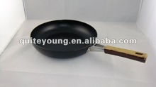 traditional non-stick frying pans with wood handle