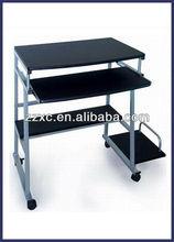 Black MDF computer desk XC-3-025