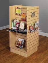 slat wall wooden shelf