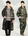 militar do exército terno da chuva capa de chuva artes exército camuflagem terno impermeável respirável barato terno da