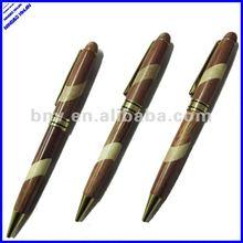 2 color twist high quality popular wood pen