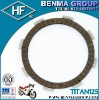 asbestos-free motocycle spare part TITAN125(CG125)