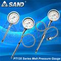 Schmelzen Druck-und temperaturanzeige für hohe temperaturen