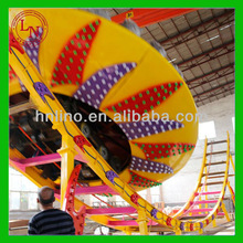 Crazy & Thrill flying UFO large theme rides amusement park roller coaster